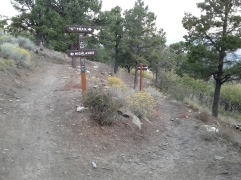 """Juntion of the Highlands trail and the """"C"""" Trail"""