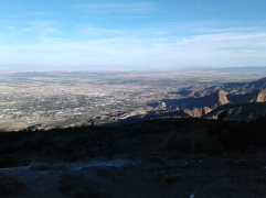 """View from the top of the """"C"""" Trail."""
